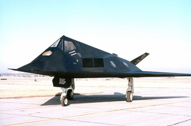 Lockheed F-117A Nighthawk (U.S. Air Force photo)