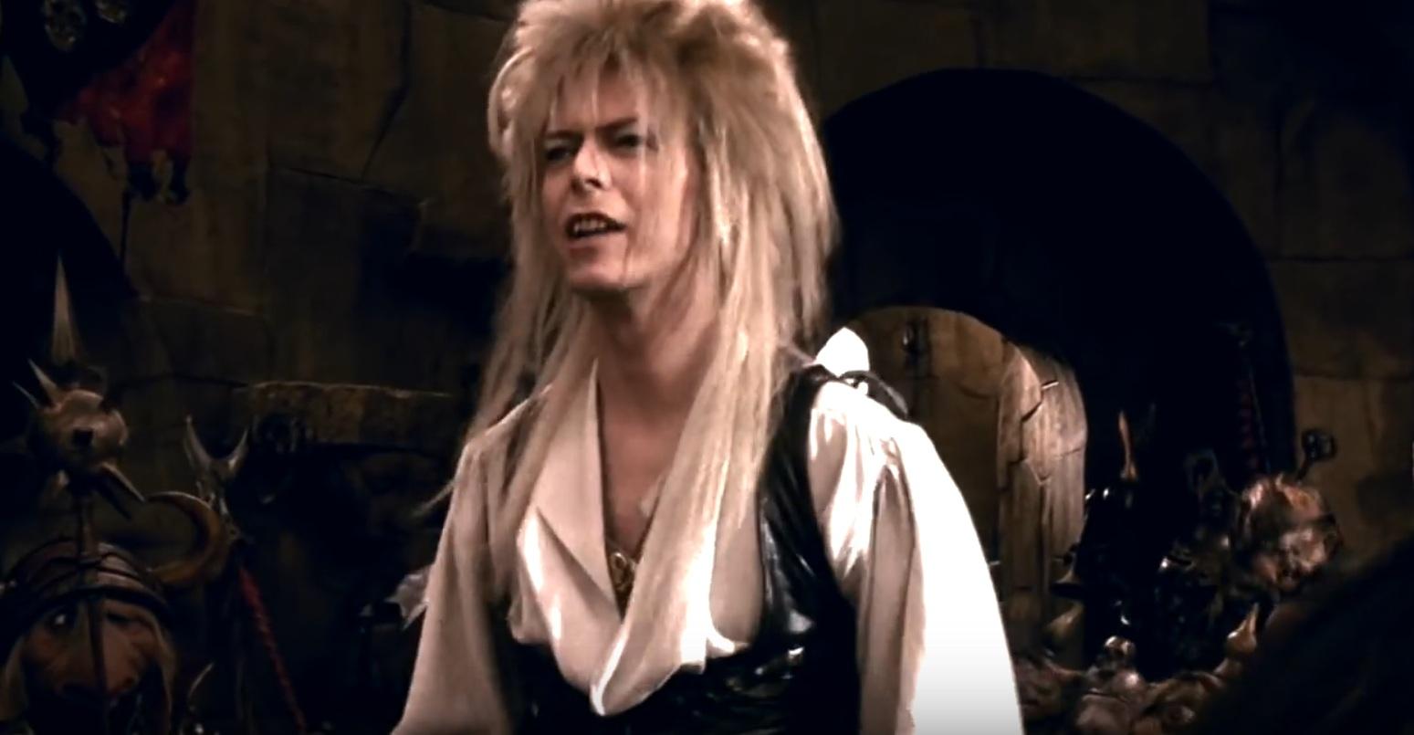 David Bowie kao Jareth, Kralj Goblina