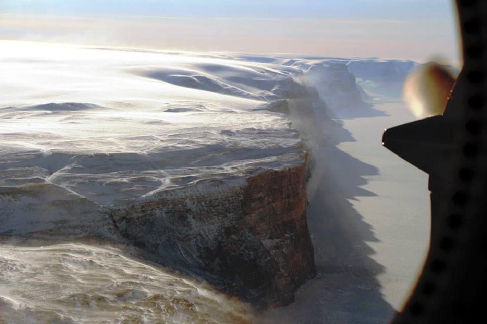 Petermannov glečer na Grenlandu