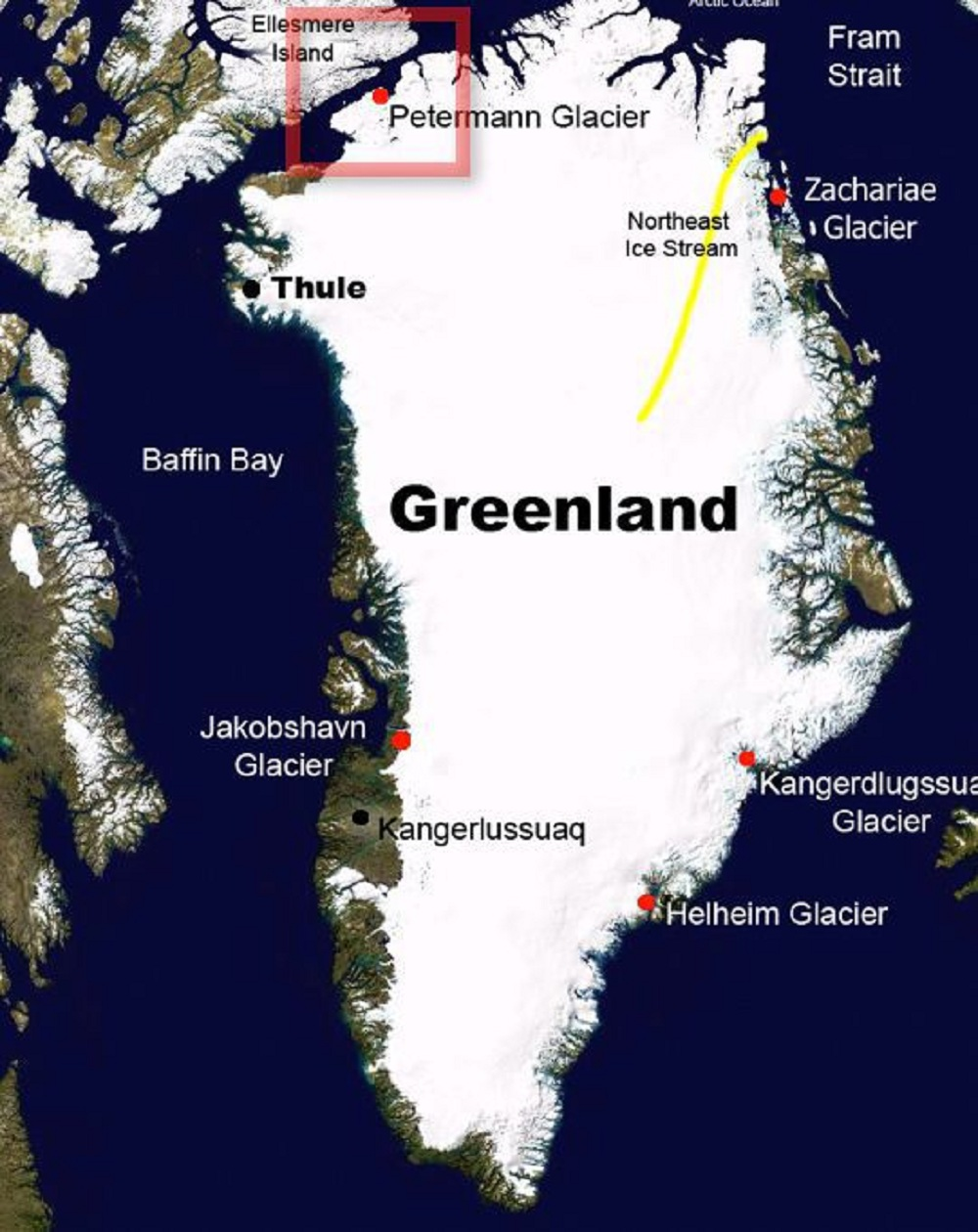 Pukotina na Grenlandu