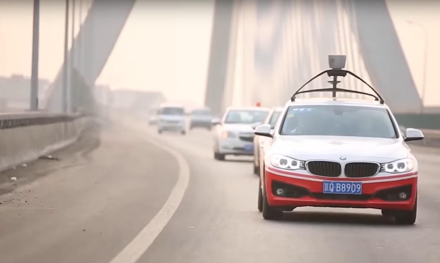 BMW sa Baidu self-driving softwareom