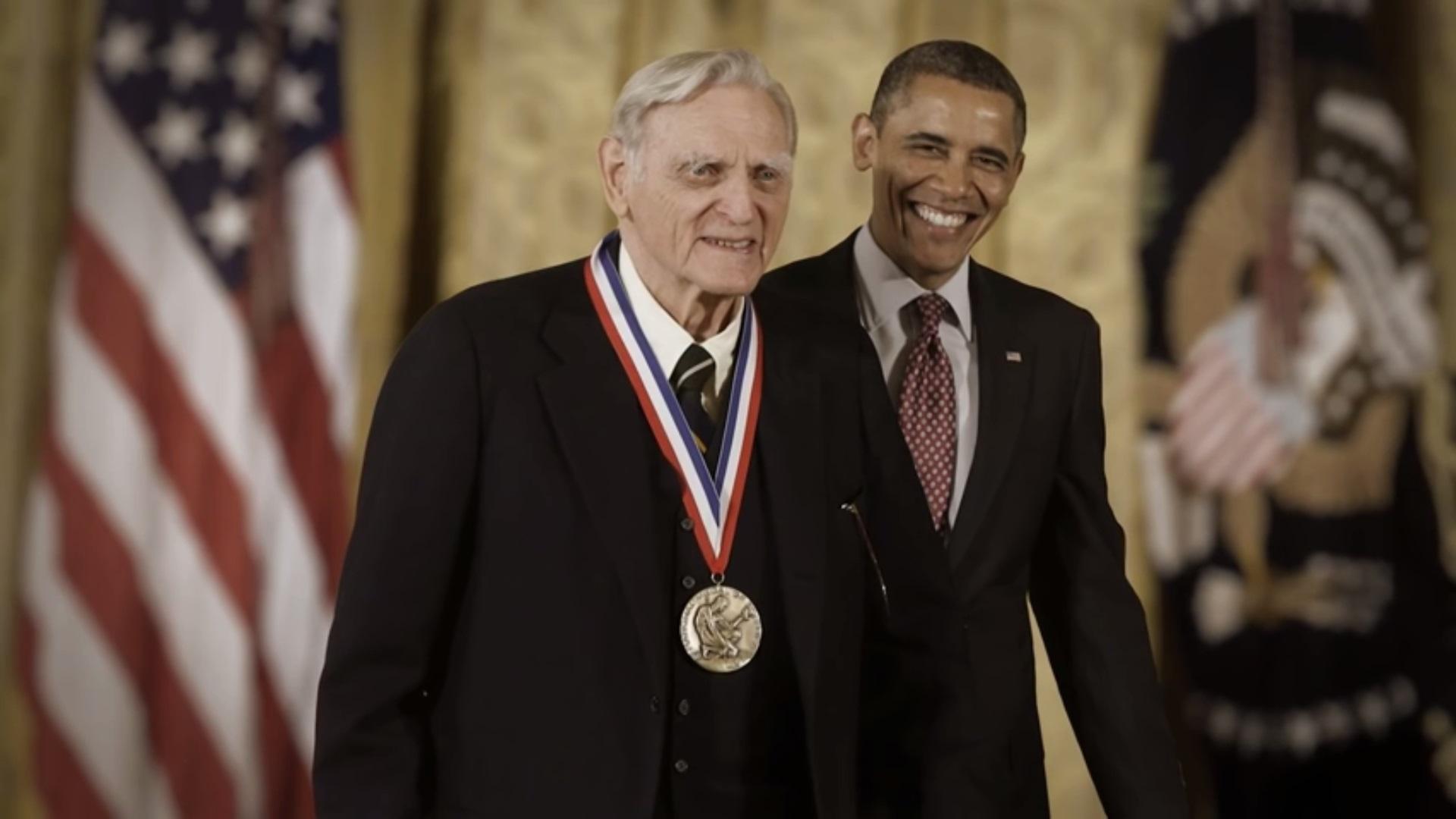 Obama mu je uručio odlikovanje 2013.