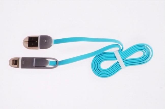 Libox MicroUSB i Lightning kabel