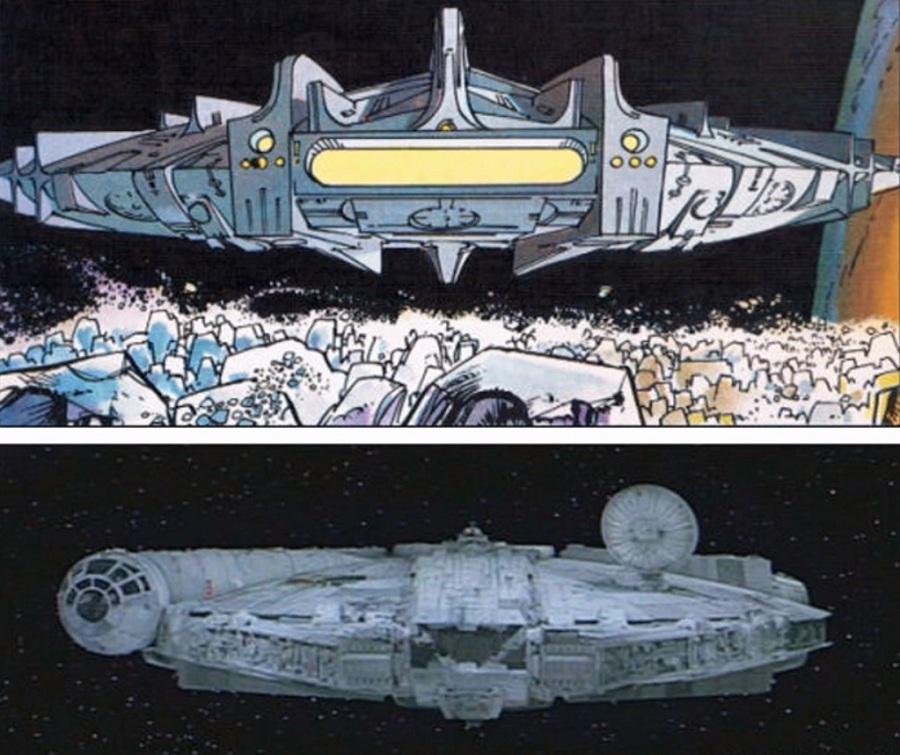 Astroship i Millennium Falcon