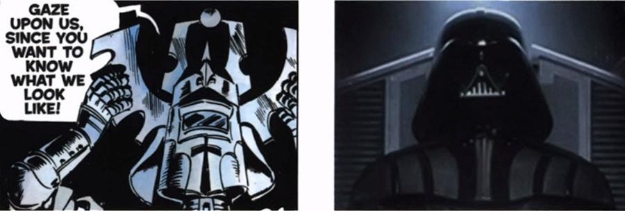 Je li Darth Vaderova kaciga original?