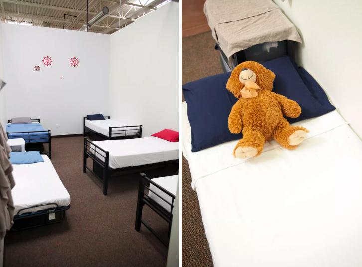 Dolazak u sklonište mnogoj djeci je prvi puta da mogu odspavati u krevetu, s krovom nad glavom.