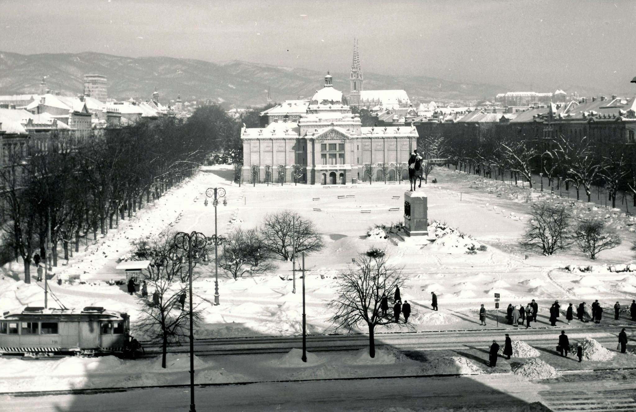 Trg kralja Tomislava, 1960. godine