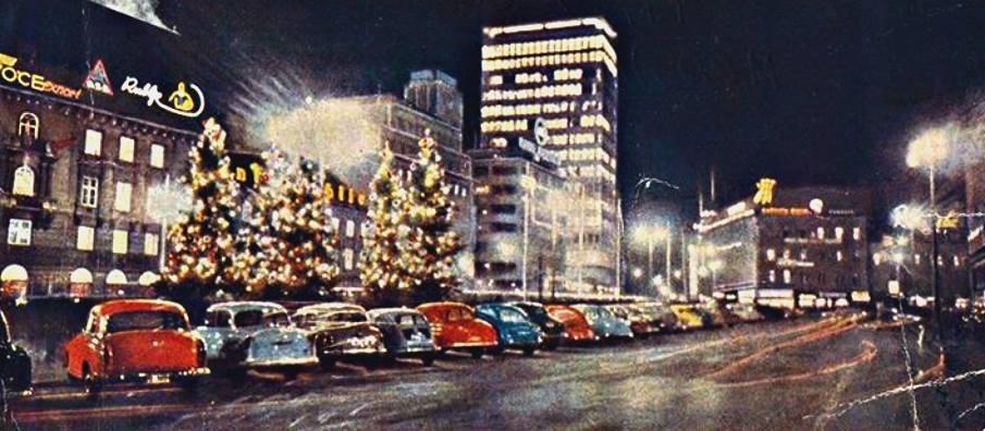 Trg Republike, Božić 1968. godine