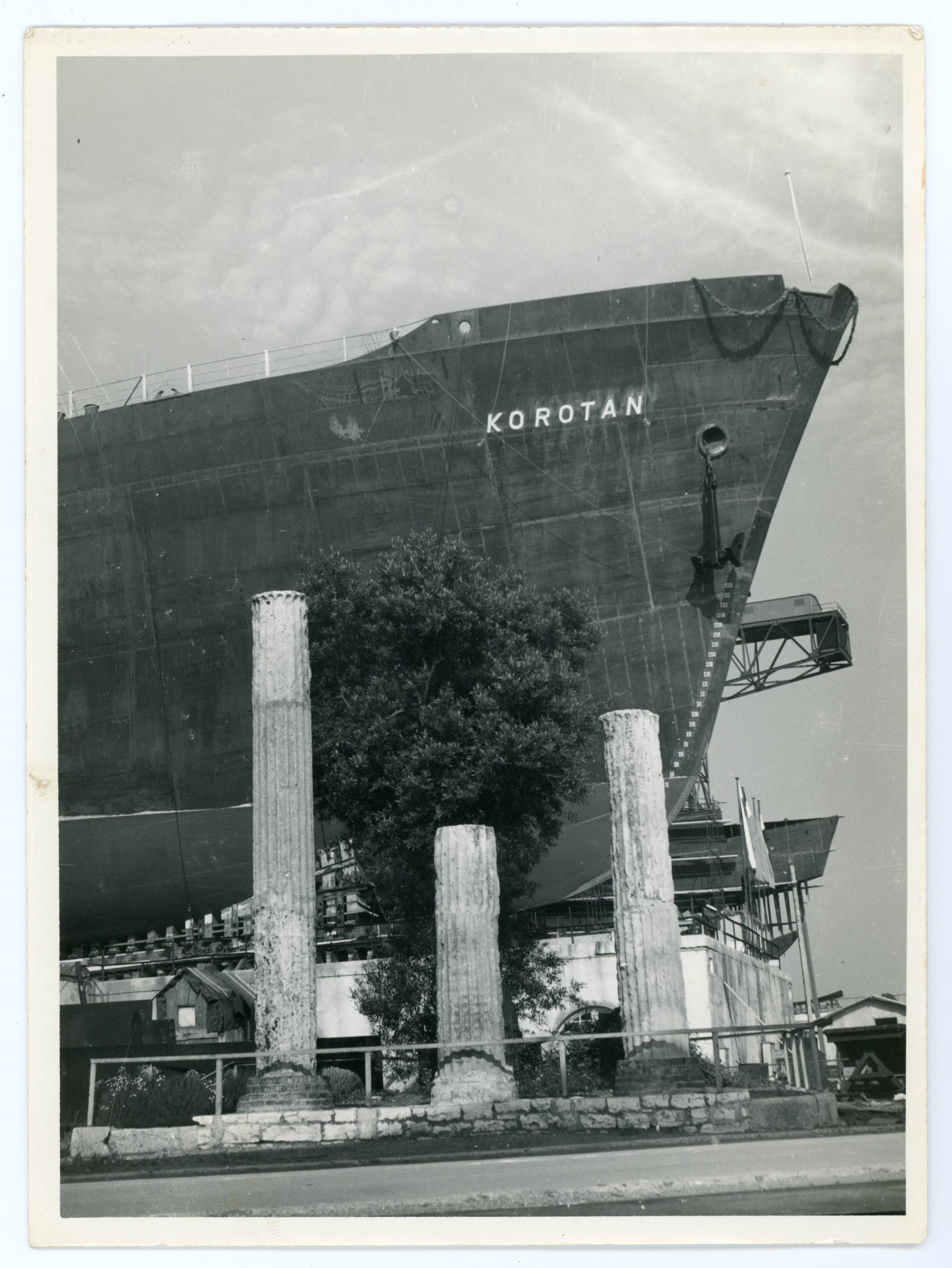 "Pramac broda za prijevoz tereta ""Korotan"" od 12 750 tona nosivosti, 1959."