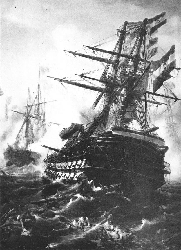 Jedno od najstarijih brodogradilišta u svijetu osnovano je 9. prosinca 1856. godine u Puli, kad je austro-ugarska carica Elizabeta položila kamen temeljac za izgradnju Uljanika.  Na fotografiji je prvi brod izgrađen u Uljaniku, Kaiser. Porinut je s navoza na otoku Uljanik dvije godine nakon otvorenja brodogradilišta, a uslijedila je izgradnja 56 brodova za ratnu mornaricu.