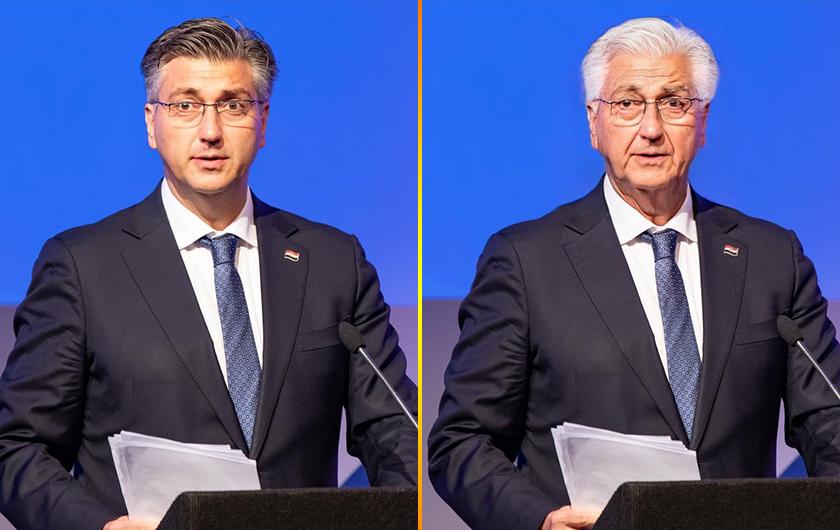 Premijer Plenković će očito s godinama sve više ličiti na predsjednika Tuđmana