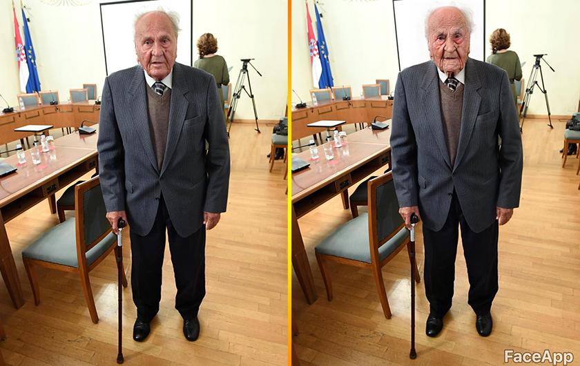 Josip Manolić, kada konačno ostari, jednog dana.