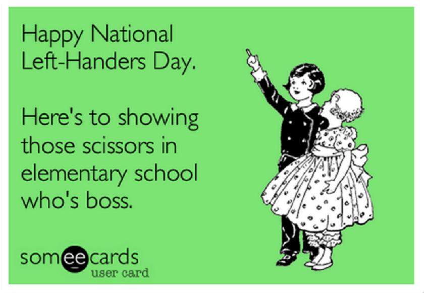Sretan Međunarodni dan ljevaka!