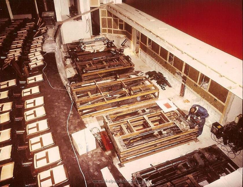 Najveća obnova riječkog HNK provedena je sedamdesetih godina 20. stoljeća. Pritom se eksterijer nikad nije mijenjao.