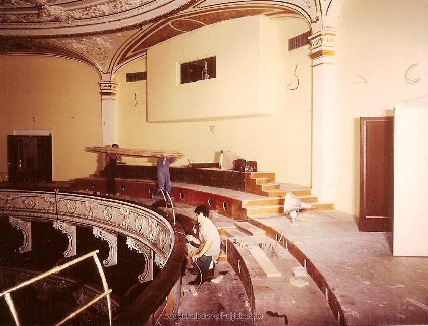 Kazalište je bilo zatvoreno 12 godina sve dok obnova nije završena 1981. godine
