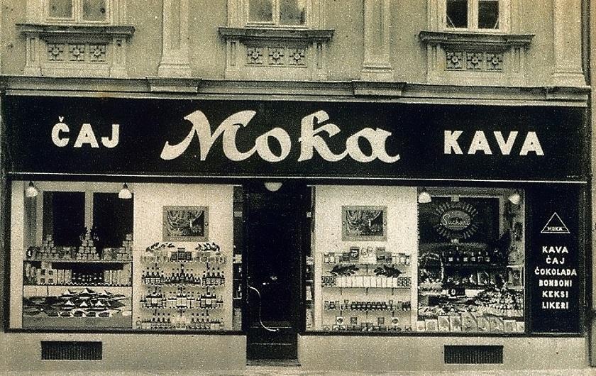 1931. godine na adresi Preobraženska 6 nalazila se trgovina Moka u kojoj su se prodavali kava, čaj i slatkiši.