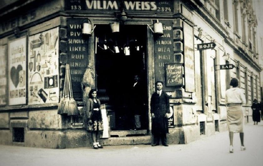 Na adresi Ilica 133 nalazila se 1940-ih trgovina Vilim Weiss.
