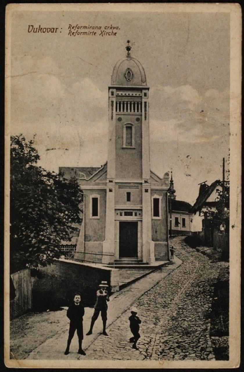 Kalvinska crkva 1910. godine