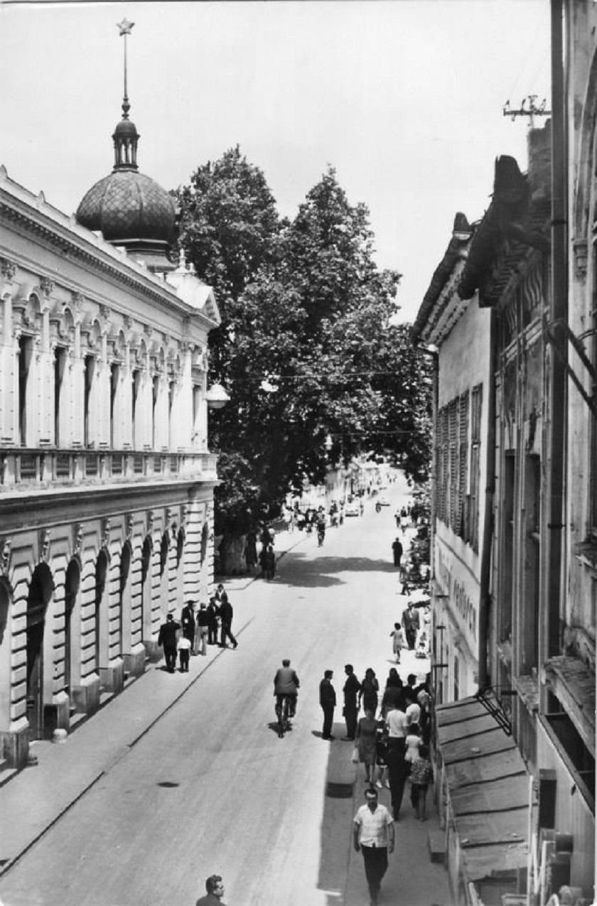 Jedna od vukovarskih ulica.