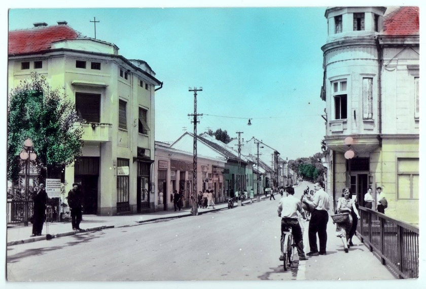 Ovako je nekada izgledala današnja Strossmayerova ulica.