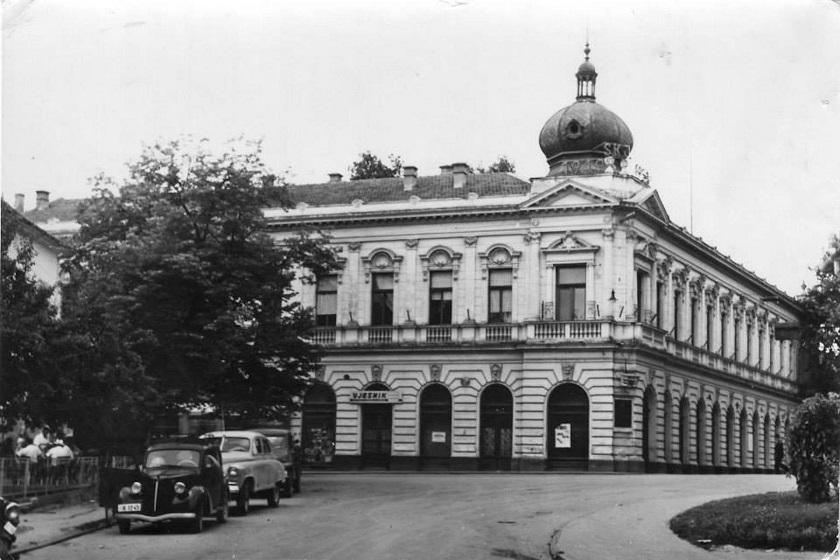 Grand Hotel snimljen šezdesetih. Kasnije je to bio Radnički dom.