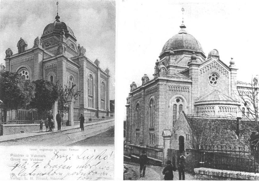 Nekadašnji židovski templ u Gajevoj ulici.
