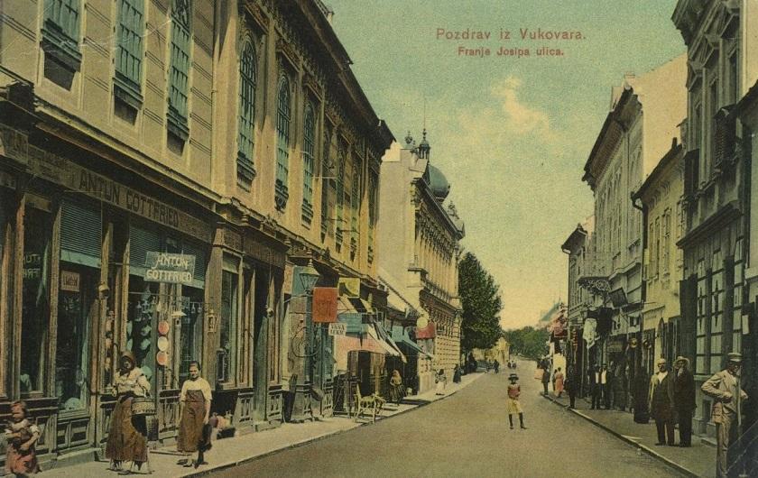 Razglednica iz Vukovara, iz 1916. godine