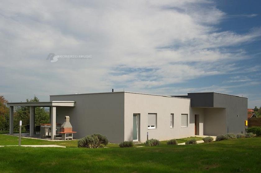 Party kuća nalazi se u Igrišću, malom mjestu blizu Zagreba.