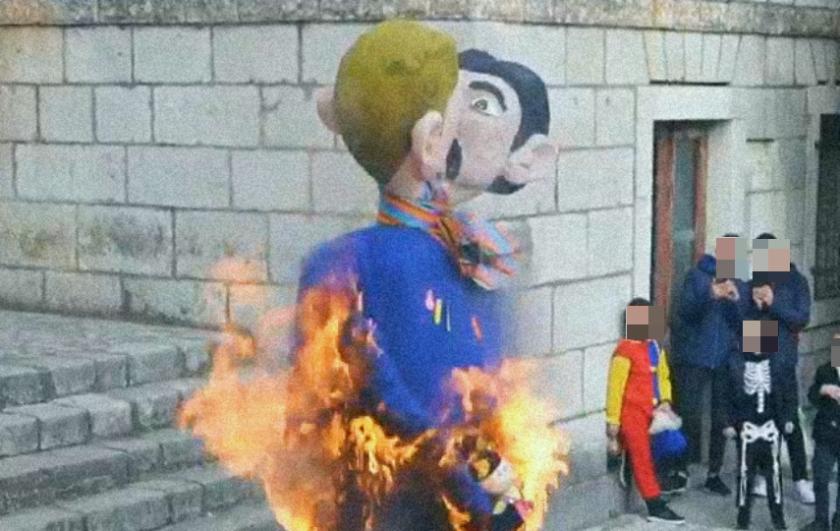 Ovo je Hrvatska danas. Na karnevalu u Imotskom spalili figuru gej ...