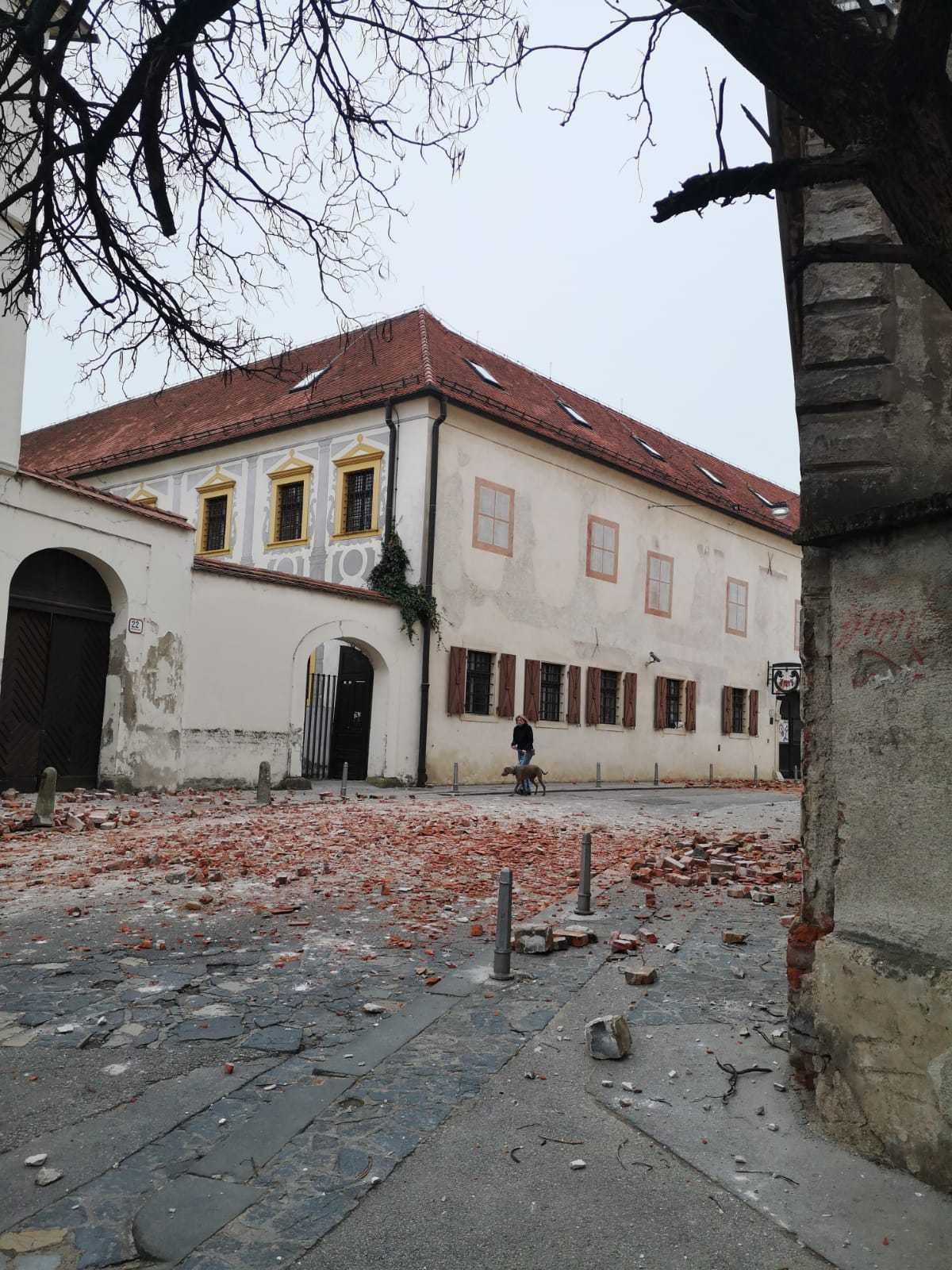 Ovako Izgleda Zagreb Nakon Snaznog Potresa Telegram Hr
