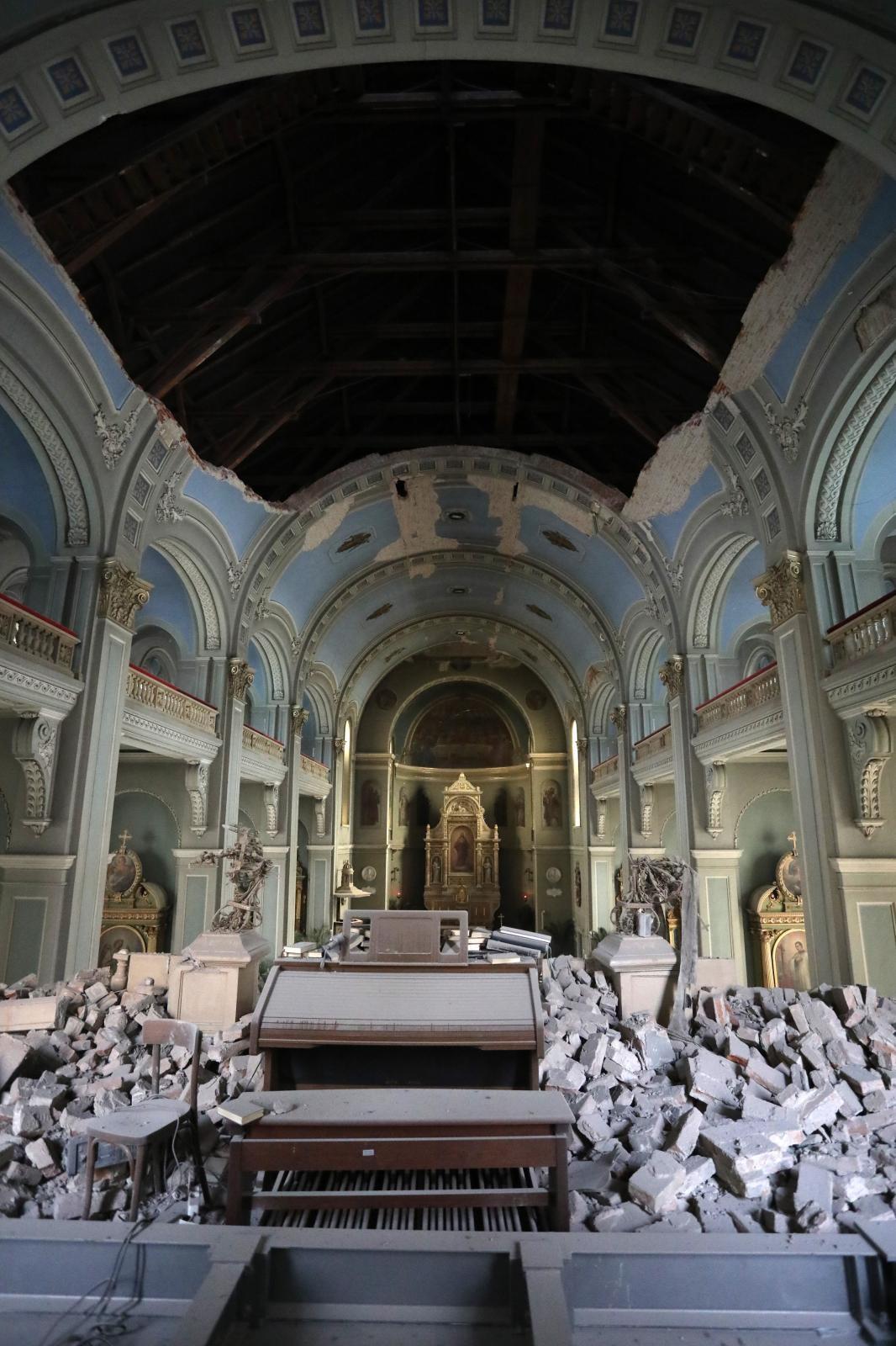 Stalno Pristizu Nove Slike Ovo Je Crkva U Palmoticevoj Dio Se