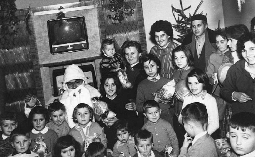 Djed mraz za djecu poštanskih službenika 1959. godine