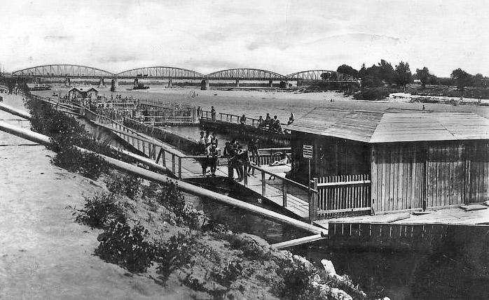 Sunčalište i kupalište Babinjak na Savi 1926. godine