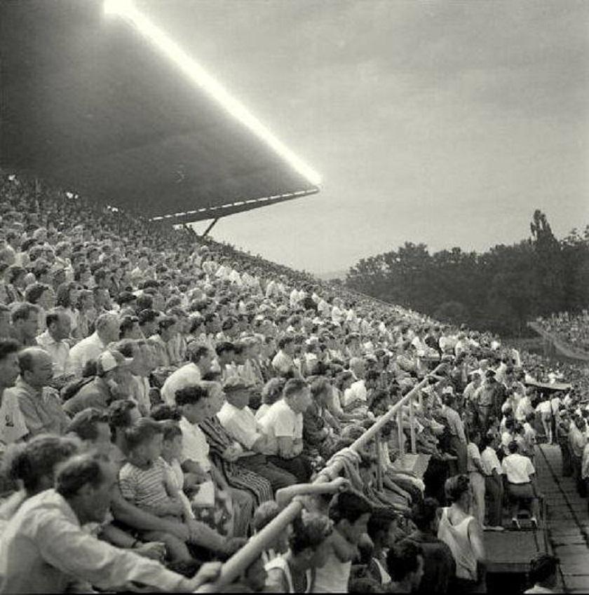 Maksimirski stadion 1957. godine