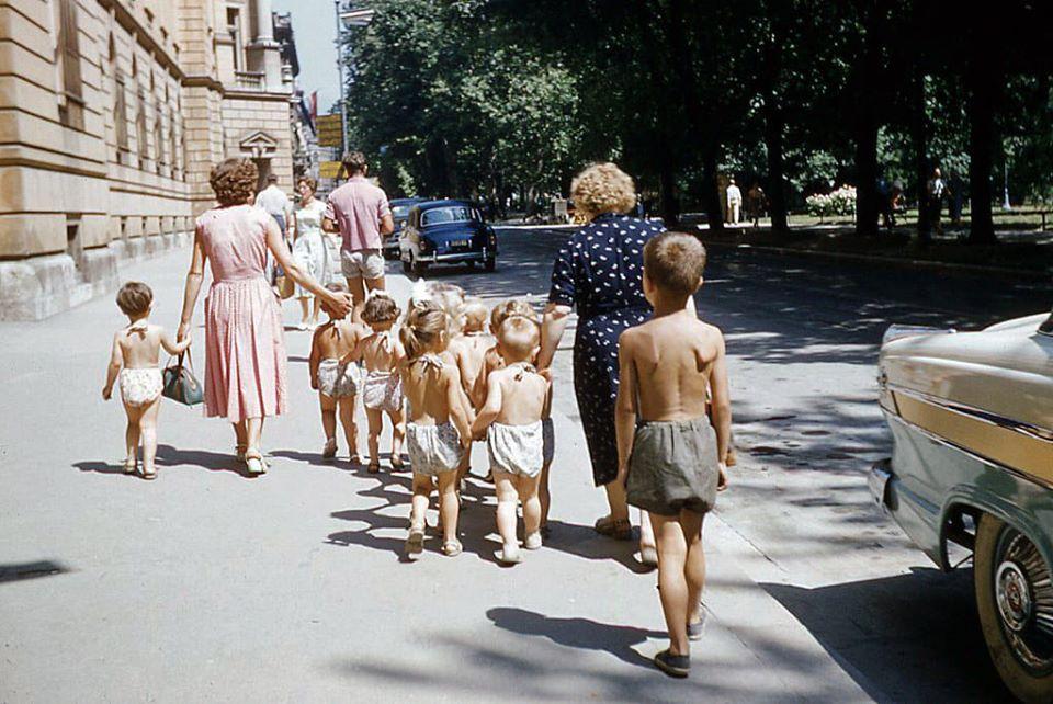 Strossmayerov trg 1950-ih.
