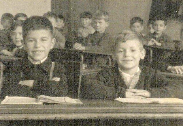 Fotka iz razreda iz 60-ih godina.
