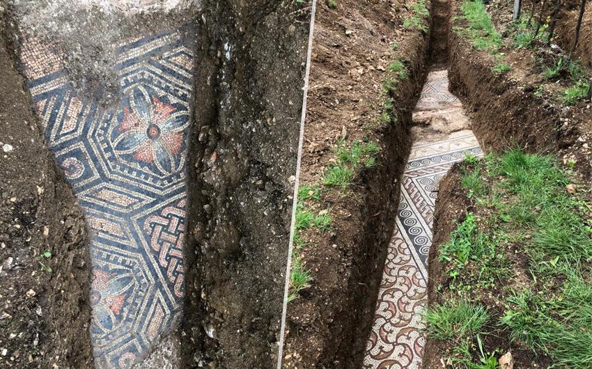 Čovjeku su ispod vinograda u Italiji pronašli savršeno očuvani podni mozaik  iz antičke vile. Fotografije su nestvarne - Telegram.hr