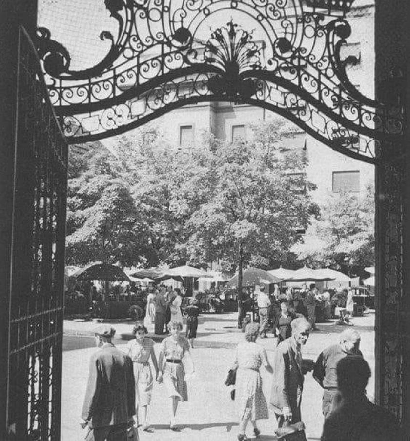 Cvjetni 1950. godine.