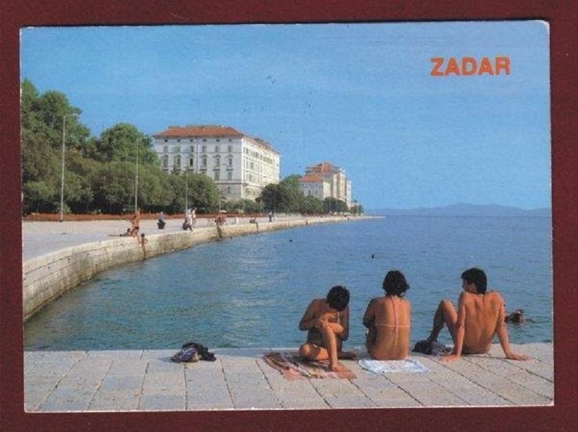 Razglednica iz Zadra, godina nepoznata