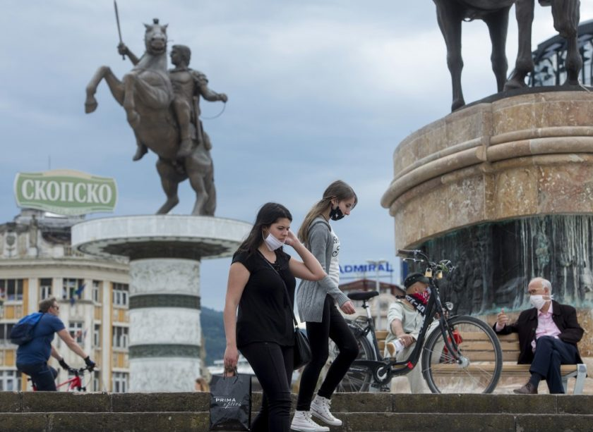 ZBOG PORASTA BROJA NOVOZARAŽENIH: Sjeverna Makedonija ponovo uvela policijski sat