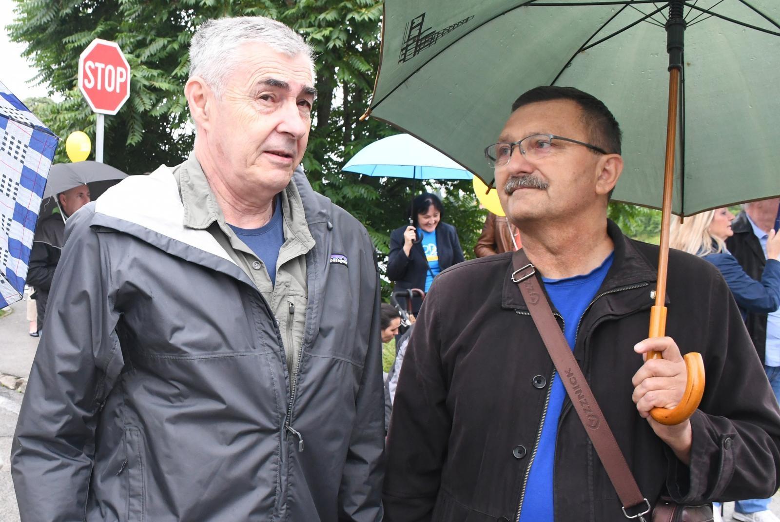 Na skupu je uočen Željko Glasnović