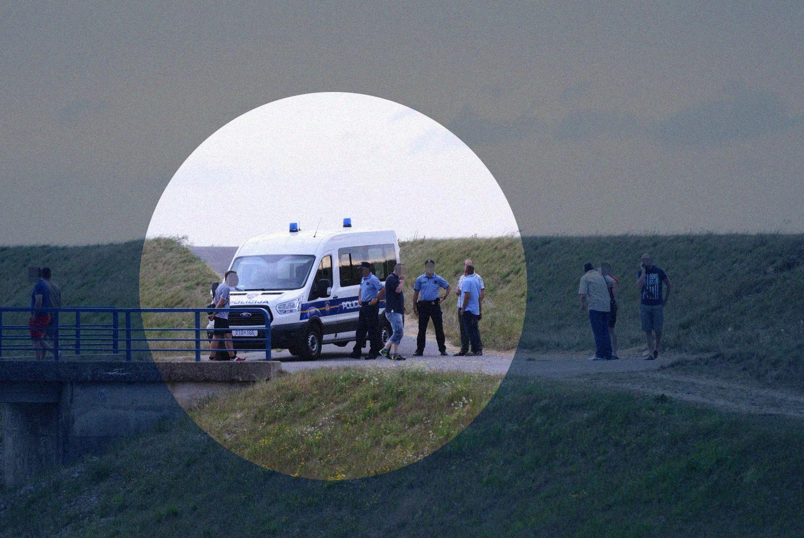 U Lučkom je u kanalu kraj ceste pronađeno tijelo žene. Izgleda da ju je netko udario autom i pobjegao