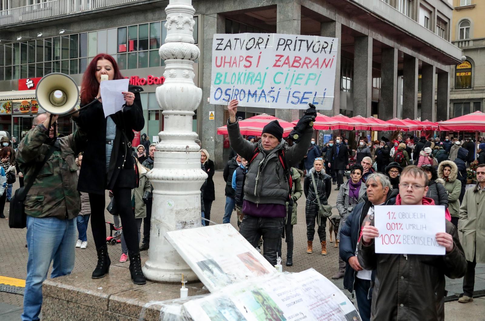 Na prosvjed su pozvali ljude i iz drugih gradova.