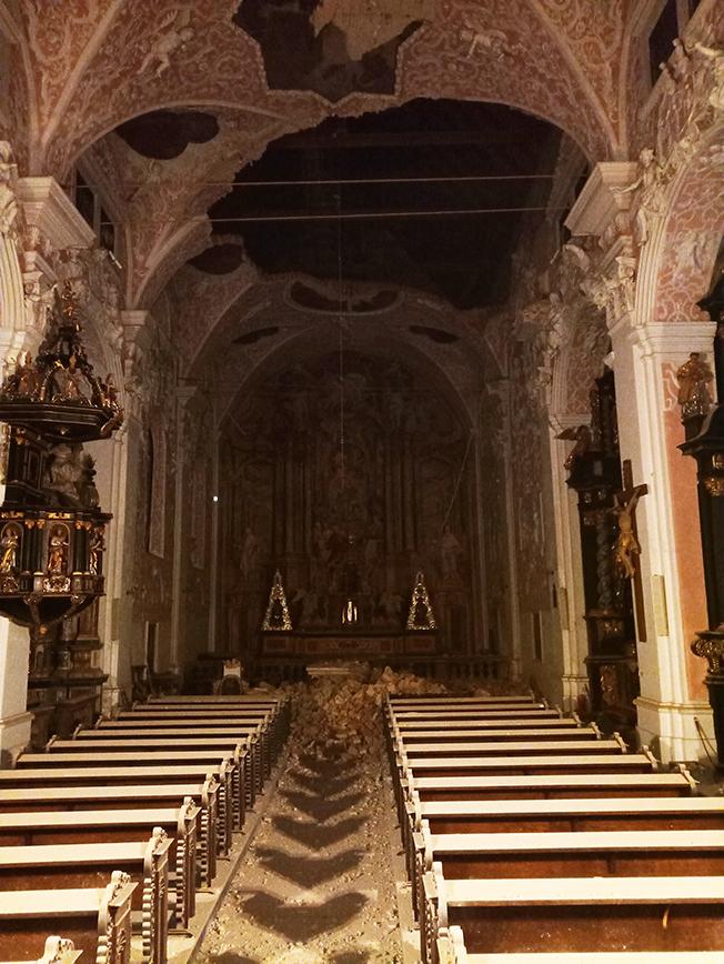 U Potresu Su Ostecene Crkva Sv Katarine I Crkva Sv Marka U Zagrebu Evo Par Fotografija Telegram Hr