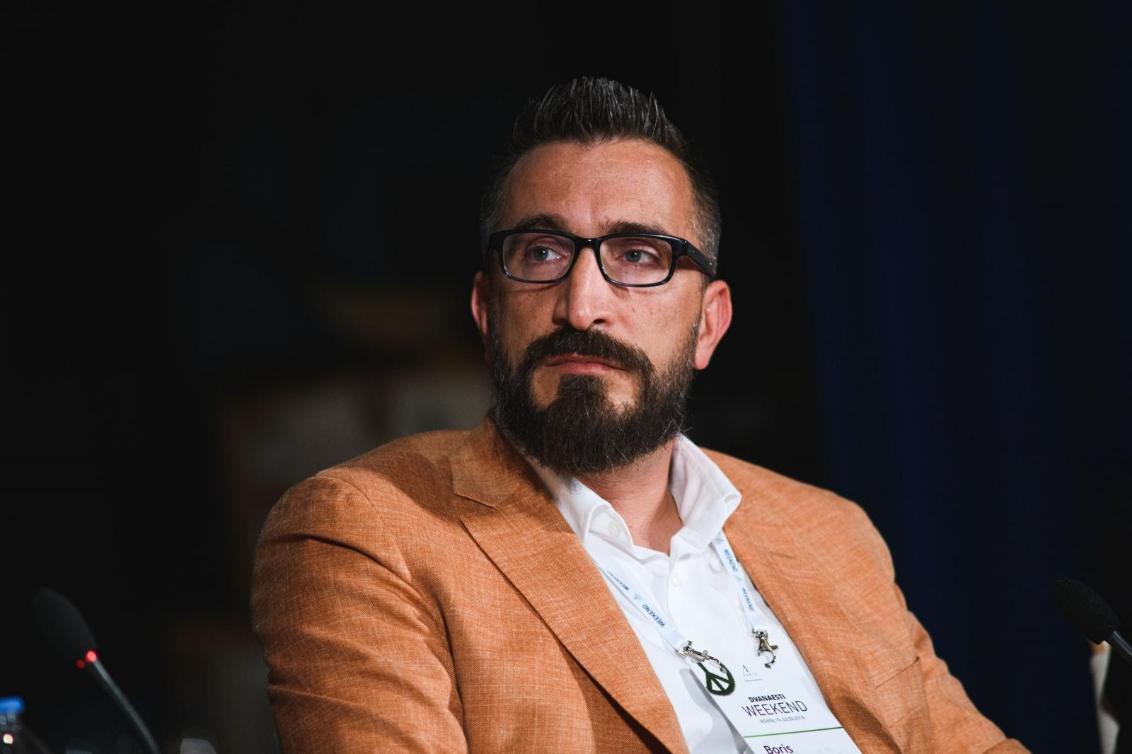 21.09.2019., Rovinj - Weekend Media festival, Kako ce zuckerberg & friends prezuivjeti globalni techlash. Boris Trupcevic  Photo: Marko Dimic/PIXSELL