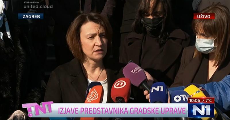 Bandićeva zamjenica u suzama najavila otvaranje knjige žalosti: 'Građani se mogu upisati od 12 sati'