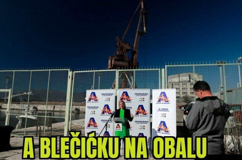 A ovako napreduju lokalni izbori u Rijeci: jedna od kandidatkinja optužila SDP da su je prozvali prostitutkom