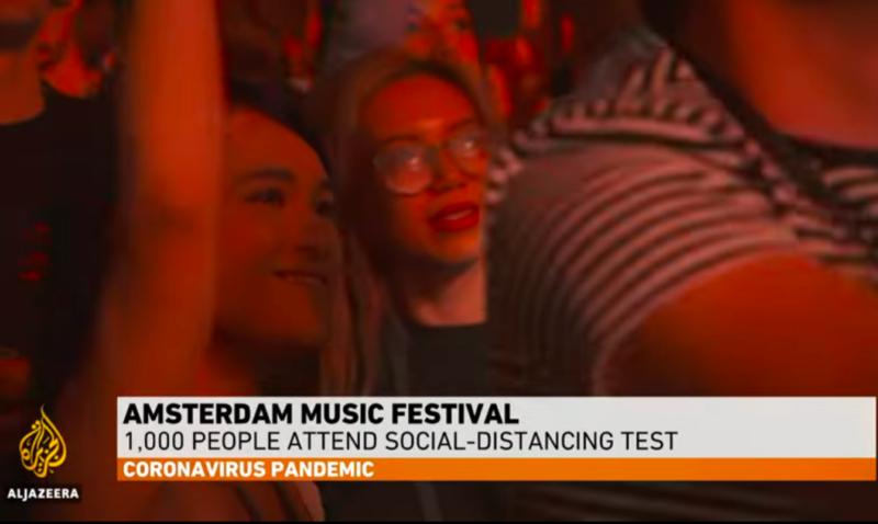 Nizozemska izvela eksperiment: uz potporu vlade organiziran masovni party da vide kako se širi korona