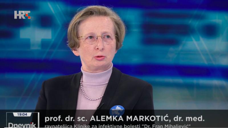 Markotić o istraživanju na Zaraznoj: 'Žene su nakon cijepljenja stvorile više antitijela'