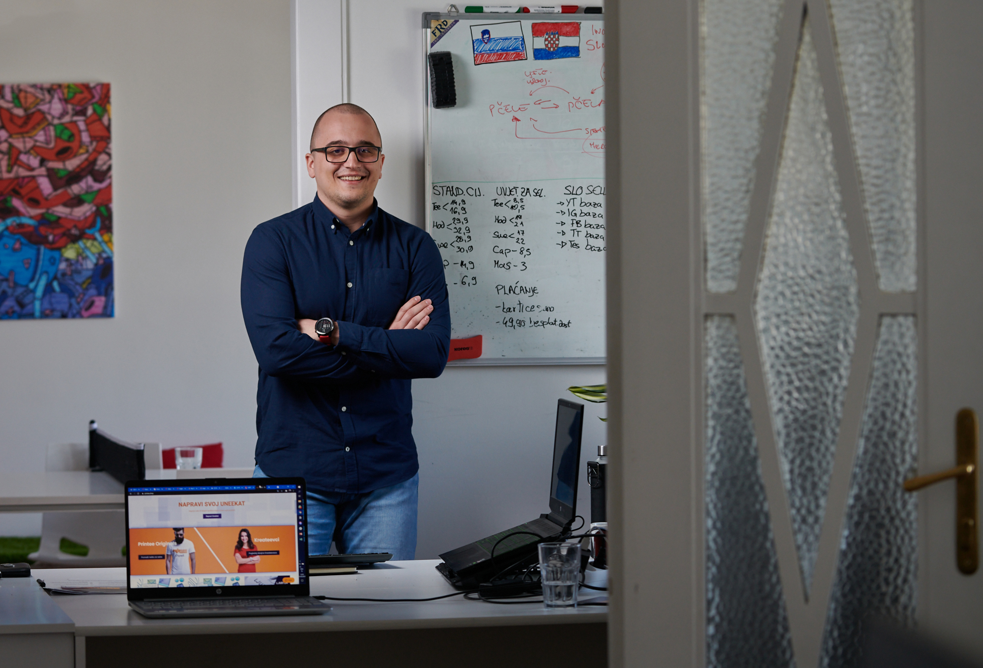 Andrej je usred covid-krize dao otkaz i otvorio svoju firmu. Nije se bojao, inspirirao ga je Winston Churchill